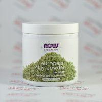 پودر پاکسازی صورت NowFoods مدل European Clay Powder