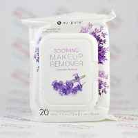 دستمال پاک کننده آرایش Nu-Pore مدل Lavender