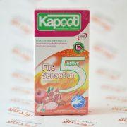 کاندوم خاردار تاخیری Kapoot مدل 5 Fire Sensation