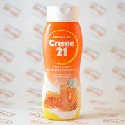 شامپو بدن کرم ۲۱ مدل شیر و عسل