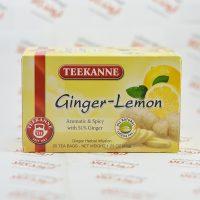 دمنوش لیمو - زنجبیل تیکانه TEEKANNE