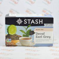 چای استش stash مدل Decaf Earl Grey