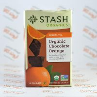 چای گیاهی استش stash مدل Organic Chocolate Orange