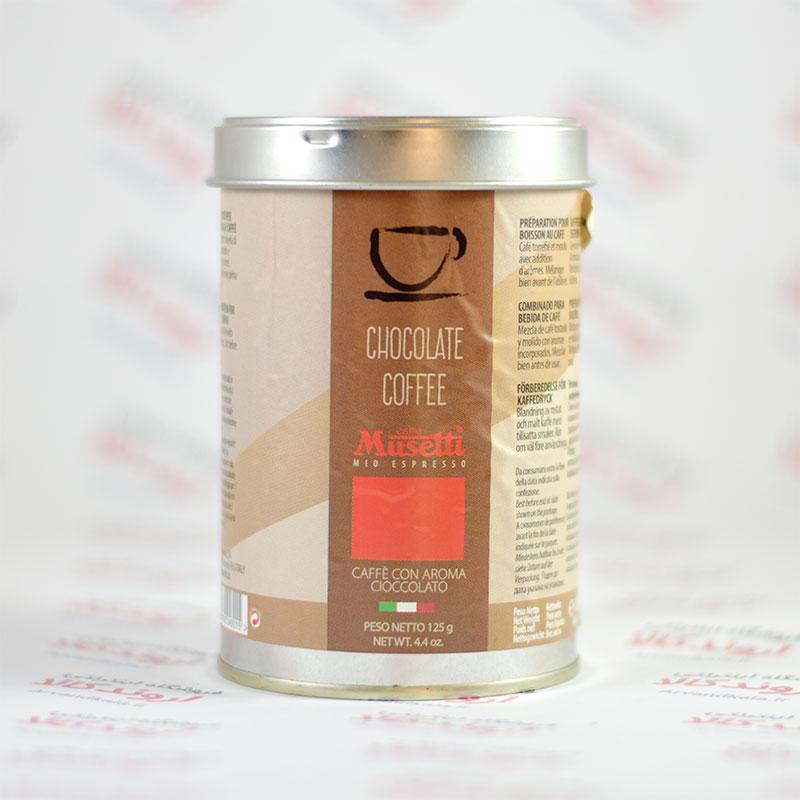 پودر قهوه با طعم شکلات Musetti مدل CHOCOLATE COFFEE