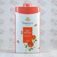 پودر خوشبو کننده بدن یاردلی YARDELLY مدل Royal RED ROSES