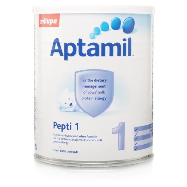 شیرخشک آپتامیل aptamil مدل pepti1