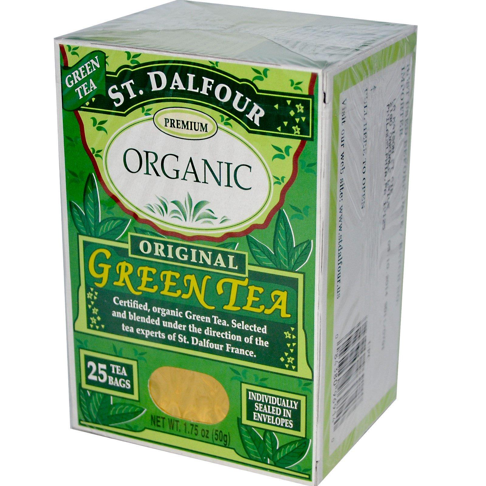 چای سبز ارگانیک St. Dalfour مدل Original