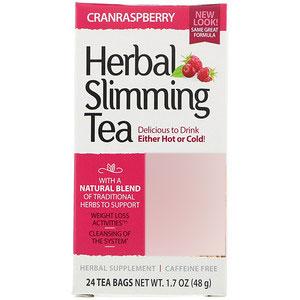 چای گیاهی لاغری 21st Century مدل Cranraspberry