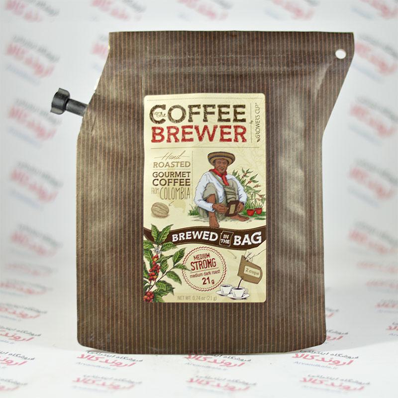 قهوه و دم کننده مسافرتی قهوه COFFEE BREWER مدل COLOMBIA