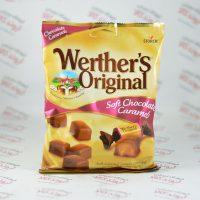 شکلات کاراملی وردرز اورجینال Werther's Original مدل Soft Chocolate Caramels