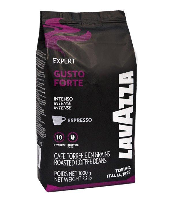 دانه قهوه لاوازا LAVAZZA مدلGusto Forte