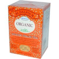 چای ارگانیک St. Dalfour مدل Golden Peach