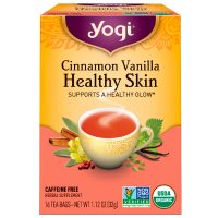 چای بدون کافئین سلامت پوست یوگی yogi مدل Cinnamon Vanilla