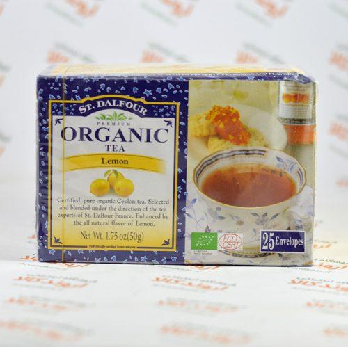 چای ارگانیک لیمو St. Dalfour مدل Lemon