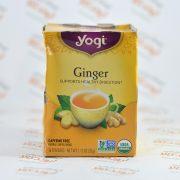 چای ارگانیک بدون کافئین زنجبیل یوگی yogi مدل Ginger