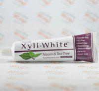 خمیر دندان ارگانیک now foods سری XyliWhite مدل Neem & Tea Tree