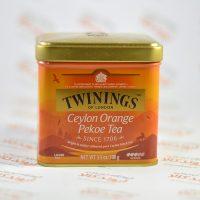 چای سیلانی توینینگز Twinings مدل Ceylon Orange Pekoe Loose
