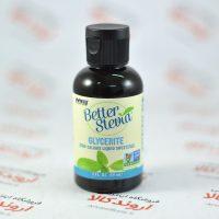 شیرین کننده رژیمی مایع استویا Nowfoods مدل Glycerite