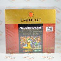 چای کیسه ای EMINENT مدل (100 عددی )ENGLISH BREAKFAST