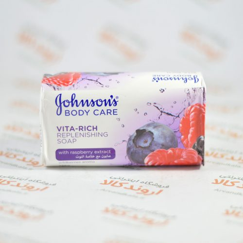 صابون جانسون Johnson's BODY CARE مدل raspberry