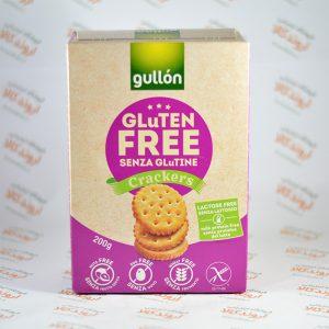بیسکویت بدون گلوتن gullon مدل Crackers