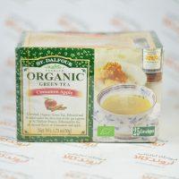 چای سبز ارگانیک St. Dalfour با طعم سیب و دارچین