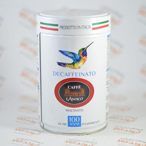 قهوه کافه لی آنتیکو CAFFEE LANTICO مدل DECAFFEINATO