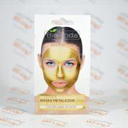 ماسک صورت ژله ای بی لندا Bielenda مدل GOLD DETOX