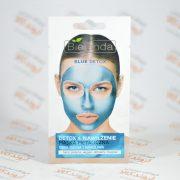 ماسک صورت ژله ای بی لندا Bielenda مدل BLUE DETOX
