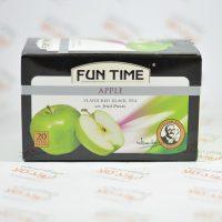 چای سیاه کیسه ای طعم دار فان تایم FUN TIME مدل APPLE