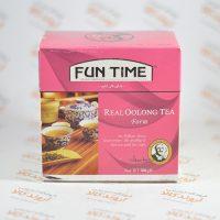 چای سبز فان تایم FUN TIME مدل اولونگ فرم