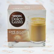 کپسول قهوه نسکافه dolce gusto مدل Cafe au Lait