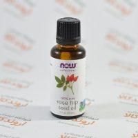 روغن دانه رز هیپ Now foods مدل Rose Hip Seed Oil