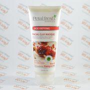 ماسک پاکسازی و جوان کننده صورت پتال فرش مدل Aloe & Pomegranate
