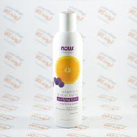 تونر پاکسازی صورت ناوفود Nowfoods مدل Vitamin C & Acai Berry