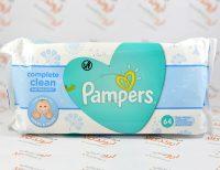 دستمال مرطوب پمپرز PAMPERS مدل complete clean