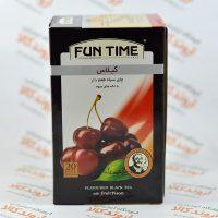 چای سیاه گیلاس فان تایم FUN TIME مدل CHERRY