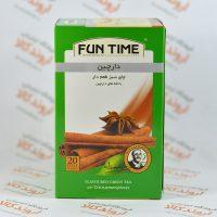 چای سبز دارچین فان تاین FUN TIME مدل CINNAMON