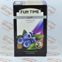 چای سیاه بلوبری فان تایم FUN TIME مدل BLUEBERRY