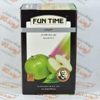 چای سیاه سیب فان تایم FUN TIME مدل APPLE