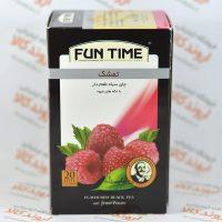چای سیاه تمشک فان تایم FUN TIME مدل RASPBERRY