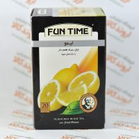 چای سیاه لیمو فان تایم FUN TIME مدل LIMON