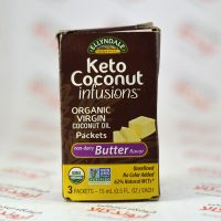 روغن نارگیل بسته ای Nowfoods مدل Keto Coconut