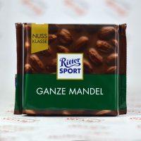 شکلات ریتر اسپرت Ritter Sport مدل Ganze Mandel