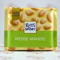 شکلات ریتر اسپرت Ritter Sport مدل Weiss Mandel