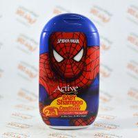 شامپو و نرم کننده موی کودک اکتیو ACTIVE طرح مرد عنکبوتی