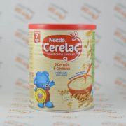 سرلاک شیر و عسل نستله Nestle مدل 5 Cereals