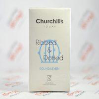 کاندوم چرچیلز Churchills مدل ROUND SEVEN