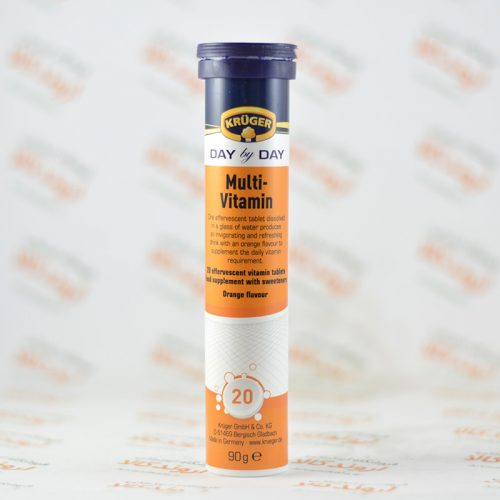 قرص جوشان کروگر KRUGER مدل Multi Vitamin