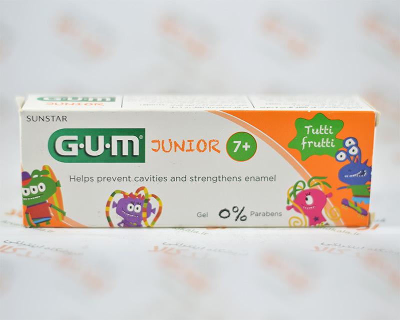 خمیر دندان جی. یو. ام G.U.M مدل JUNIOR
